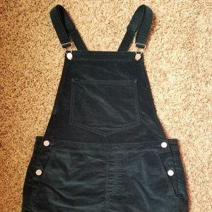 Urban Outfitters velvet overalls